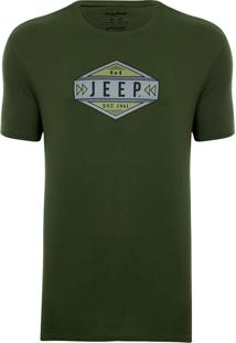 Camiseta Jeep Gas Verde