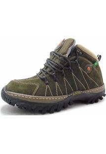 Bota Dr Shoes Adventure Verde Militar