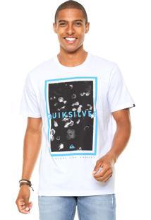 Camiseta Quiksilver Surf Company Branca