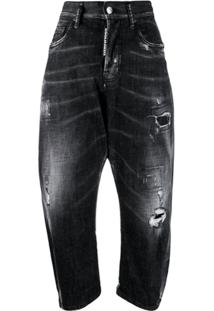 Dsquared2 Calça Jeans Kawaii - Preto