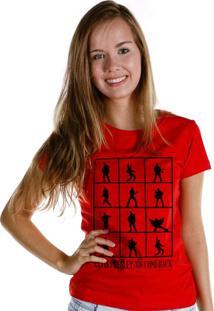 Camiseta Bandup Bandas Elvis Presley 68 Comeback Vermelho
