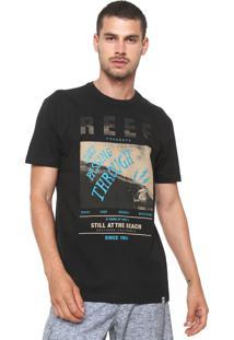 Camiseta Reef Time Preta