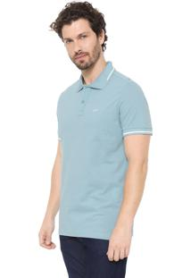 Camisa Polo Yachtsman Reta Cameo Azul