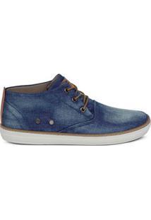 Sapatênis Masculino Jeans Cano Alto West Coast 118617