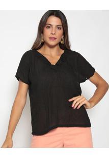 Blusa Lisa - Pretaluiza Cabral