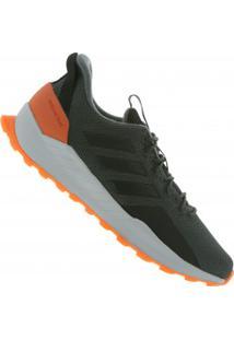 Tênis Adidas Questar Sport - Masculino - Cinza Esc/Laranja