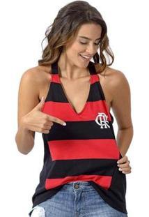c2091f7932 Regata Algodao Flamengo feminina