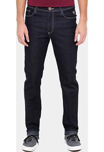 Calça Jeans Skinny Cavalera Escura Masculina - Masculino