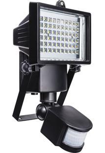 Refletor Solar Liege 854956 Com Sensor De Movimento 60 Leds 6500K