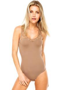 Body Dilady Modelador Marrom