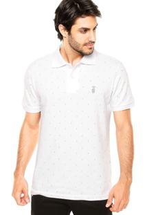 Camisa Polo Snk Ancora Branca