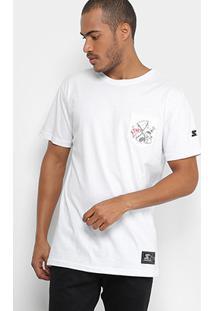 Camiseta Starter Estampada Pocket Masculina - Masculino