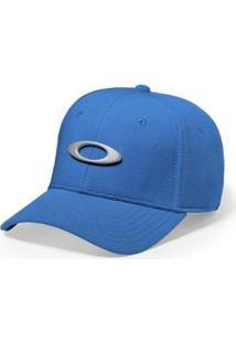 Boné Oakley Tincan - Fechado - Masculino-Azul+Cinza