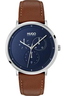 Relógio Hugo Boss Masculino Couro Marrom - 1530032