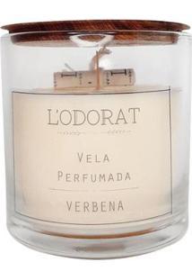 Vela Perfumada L?Odorat Verbena 150G - Unissex-Incolor