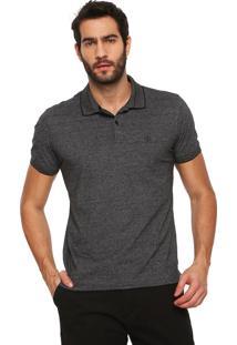 Camisa Polo Dudalina Comfort Cinza