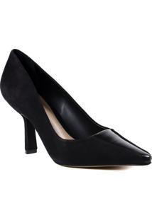 Sapato Feminino Scarpin Schutz Em Couro