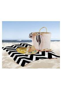 Toalha De Praia / Banho Love Type Único