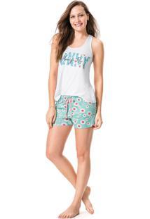 Pijama Nadador Estampado Malwee Liberta