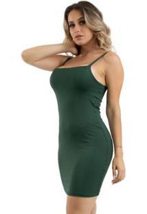 Vestido Rioutlet Tubinho Gabi - Feminino-Verde