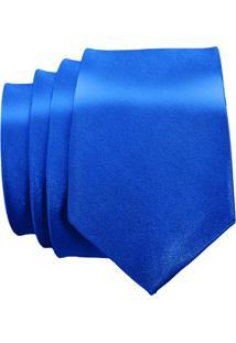 Gravata Unyforme Slim - Masculino-Azul