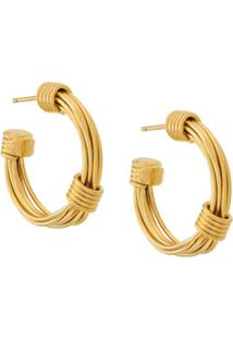 Gas Bijoux Ariane Hoop Earrings - Metálico