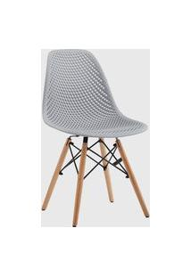 Cadeira Eloá Cinza Conjunto 04 Rivatti
