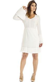 Vestido Com Plissado Ana Hickmann
