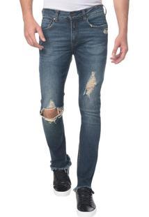 Calça Jeans Five Pocktes Skinny Ckj 016 Skinny - Marinho - 36