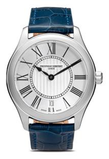 Frédérique Constant Relógio Com Numeral Romano - White