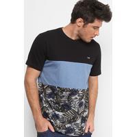 Camiseta Mcd Especial Core Tropical Bones Masculina - Masculino-Azul 83e763d6d15