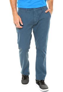 Calça Sarja Oakley Classic Chino Azul