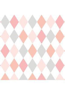 Papel De Parede Lymdecor Losango Multicolorido