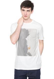 Camiseta Calvin Klein Textura Off-White