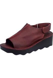 Sandália S2 Shoes Amarilis Vinho