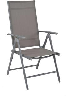 Cadeira Tramandai Cinza Tela Cinza Rivatti Móveis