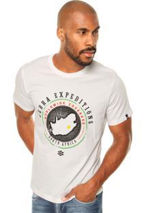 Camiseta Zebra South Africa Branca