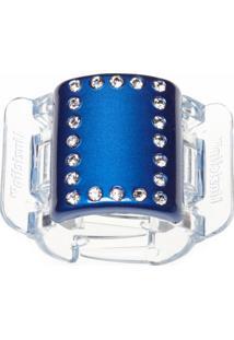 Prendedor De Cabelo Linziclip Pearlised Diamante Majestic Blue