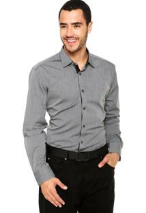 Camisa Aramis Slim Fit Cinza