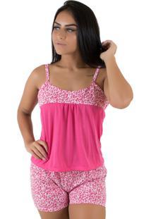 Baby Doll Linha Noite Pink