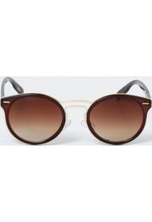 Óculos Feminino De Sol Redondo Vintage Marisa
