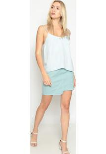 Blusa Jeans- Azul Claro- Sommersommer