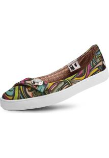 Sapatilha Usthemp Womanly Vegano Casual Art Candy Multicolorido
