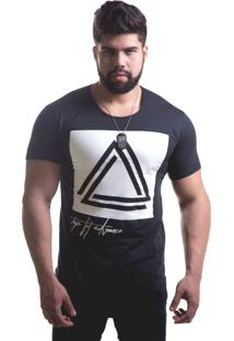 Camiseta Top Fit Gangster Preto