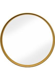 Espelho Round Ouro Red. Liso