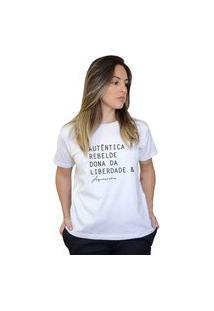Camiseta Boutique Judith Aquariana Branco