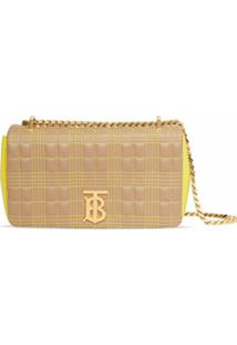 Burberry Small Lola Quilted Tri-Tone Bag - Neutro