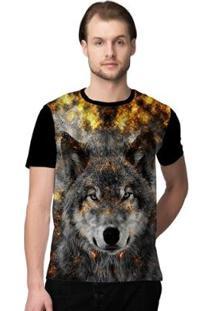 Camiseta Stompy Wolface Masculina - Masculino