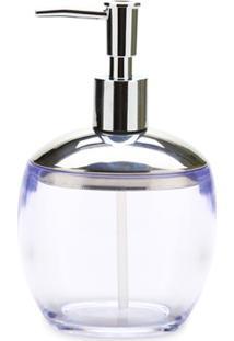 Porta Sabonete Líquido Spoom Classic 330Ml Cristal