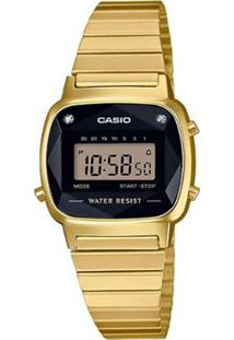8fe9511b0b4 ... Relógio Casio Vintage Diamond Feminino - Feminino-Dourado